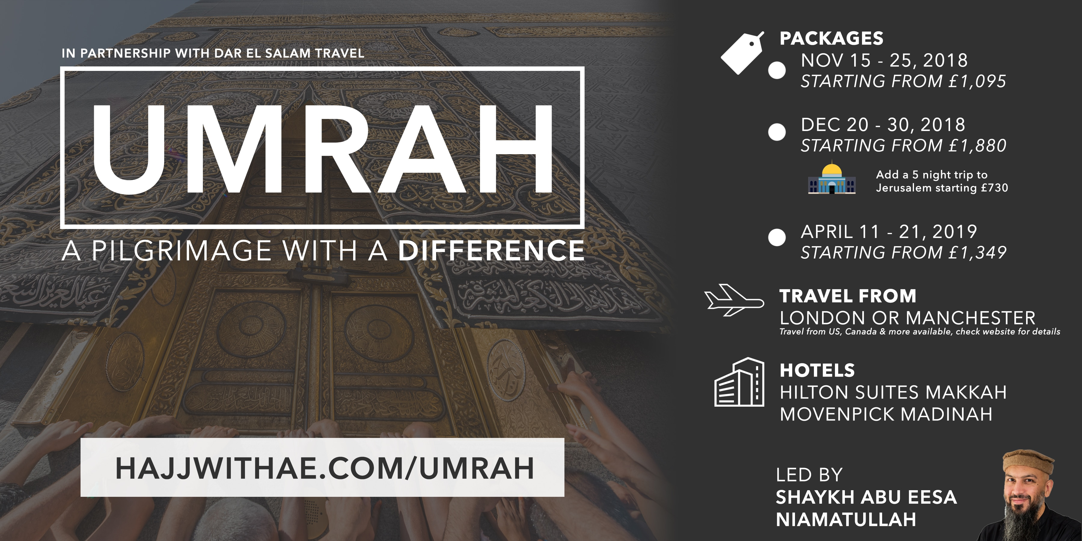 Umrah – Your Hajj With Abu Eesa